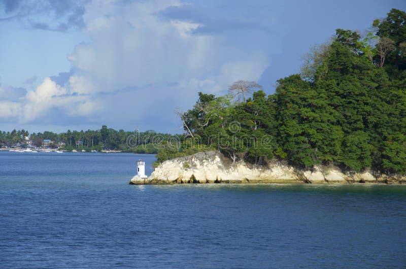 Le phare des îles d'île, de Port Blair, d'Andaman et de Nicobar de Havelock photos libres de droits