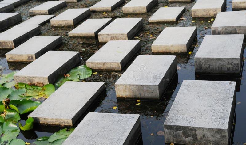 Le pietre facenti un passo fotografia stock libera da diritti
