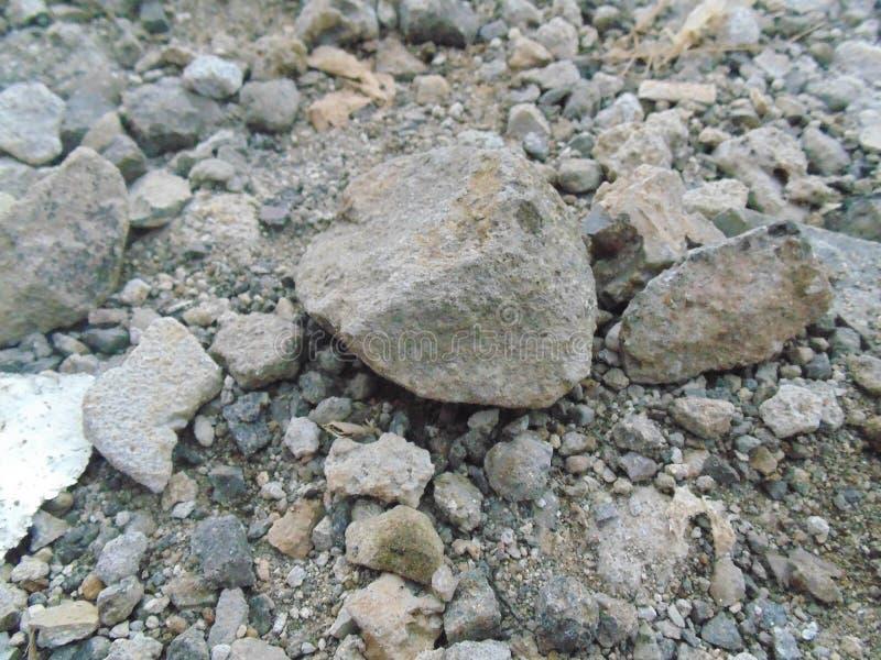 Le pietre ruvide fotografie stock libere da diritti
