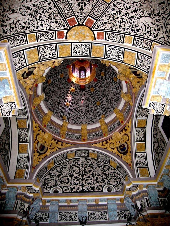 Le plafond des amants de Teruel photographie stock libre de droits