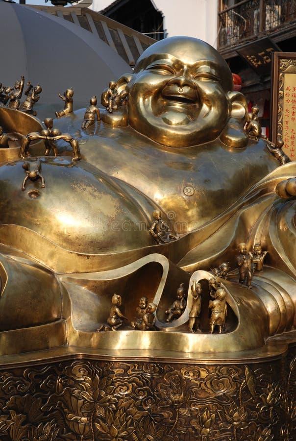 Le plaisir et la pupille de bouddhisme de quelques bouddhistes photo libre de droits
