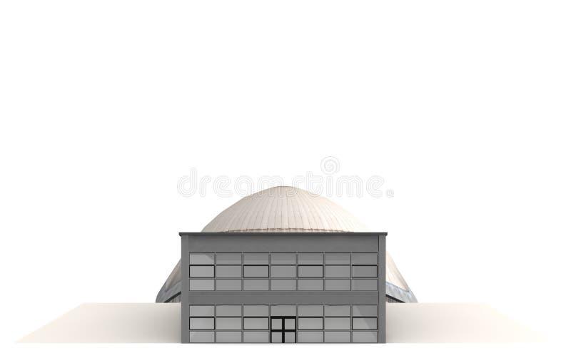 Le planétarium 3 illustration stock