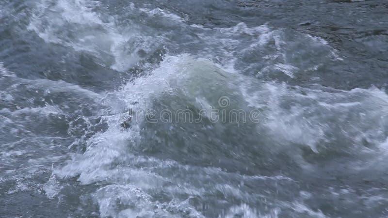Le plan rapproché de rivière de montagne clips vidéos