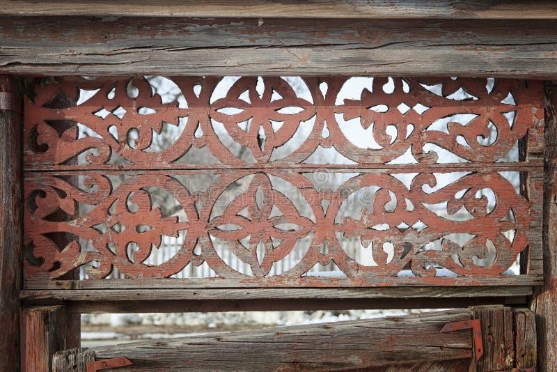 Le plance di legno della tinta rossa pastello di Gringe modellano il fondo di struttura fotografie stock