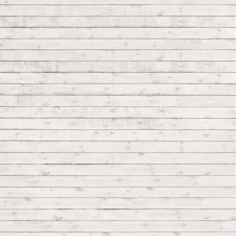 Le plance orizzontali lunghe bianche quadrano fotografia stock