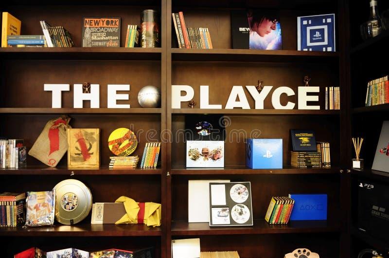 Le Playce - PlayStation4 image libre de droits