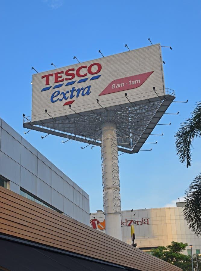 Le PLC de Tesco est une épicerie multinationale britannique et un détaillant général de marchandises image stock