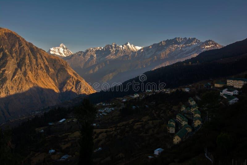 Le plus grand Himalaya photographie stock
