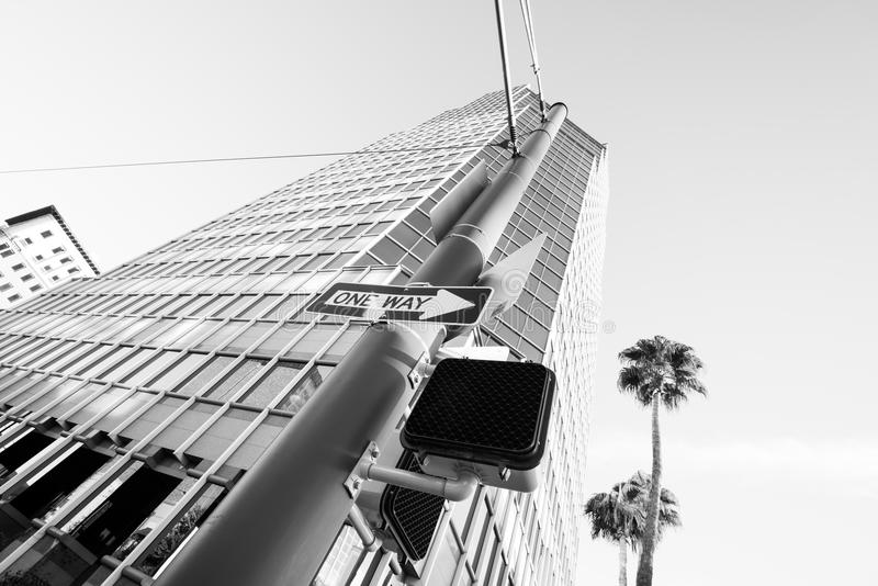 Le plus haut bâtiment dans Tucson images stock
