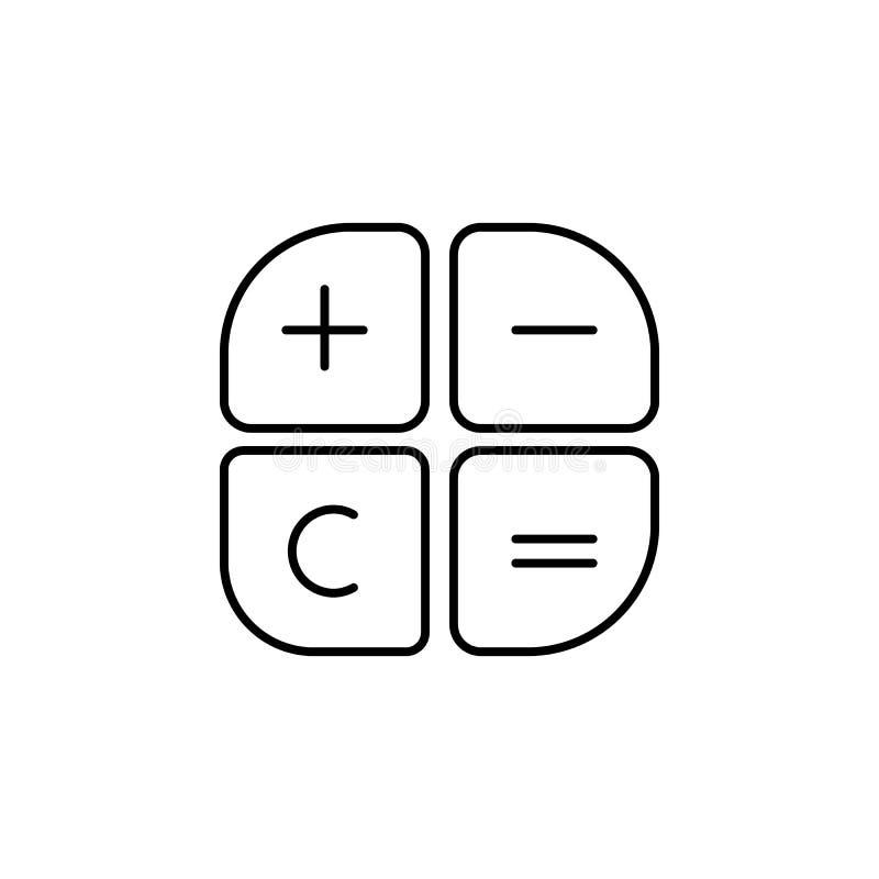 Le plus sans la suppression égale l'icône Élément d'icône populaire de finances Conception graphique de qualité de la meilleure q illustration stock
