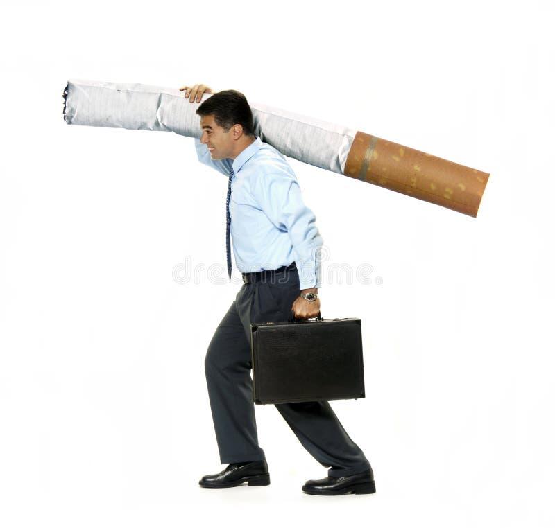Le poids de la cigarette dans le fuselage photo stock