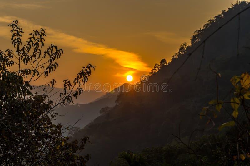 Le point de vue de hillsKottappara de Kottapara est la plus nouvelle addition au tourisme dans le secteur d'Idukki du Kerala photo stock