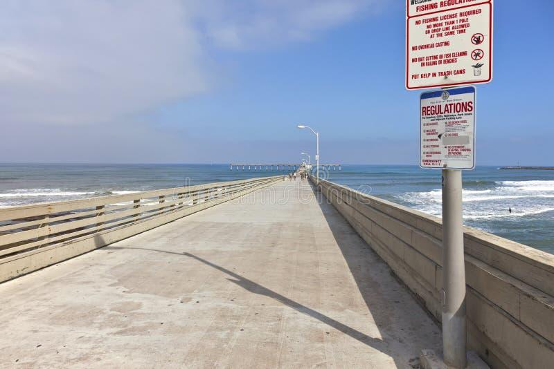 Le point Loma San Diego California de promenade. image stock