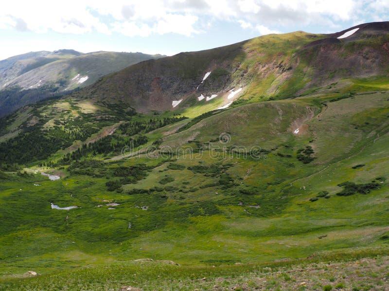 Le point le plus élevé en Rocky Mountain National Park image libre de droits