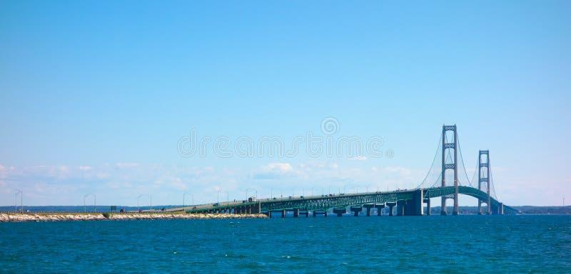 Le pont célèbre de macinac photos libres de droits