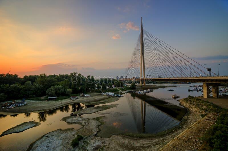 Le pont d'ADA photographie stock