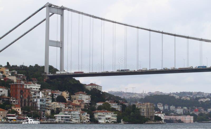 Le pont de Bosphorus image libre de droits