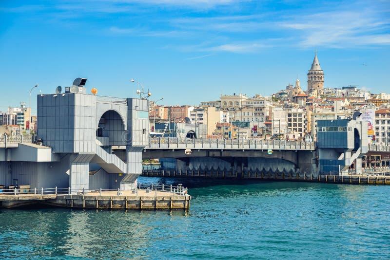 Le pont de Galata photographie stock