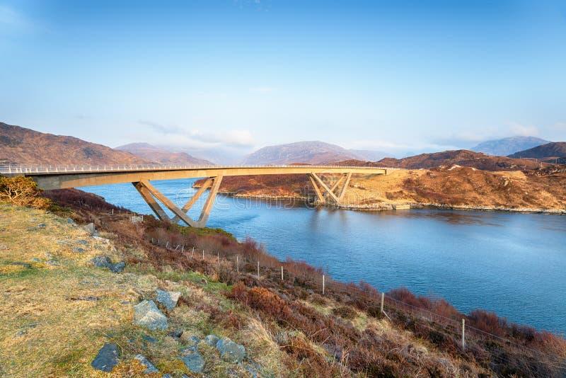 Le pont de Kylesku photographie stock libre de droits