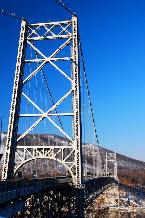 Le pont de la montagne de l'Ours image stock