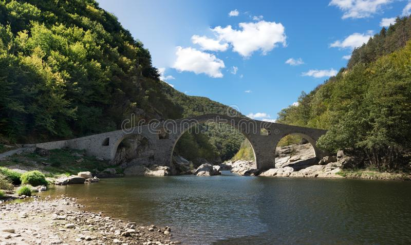 Le pont du diable photo libre de droits