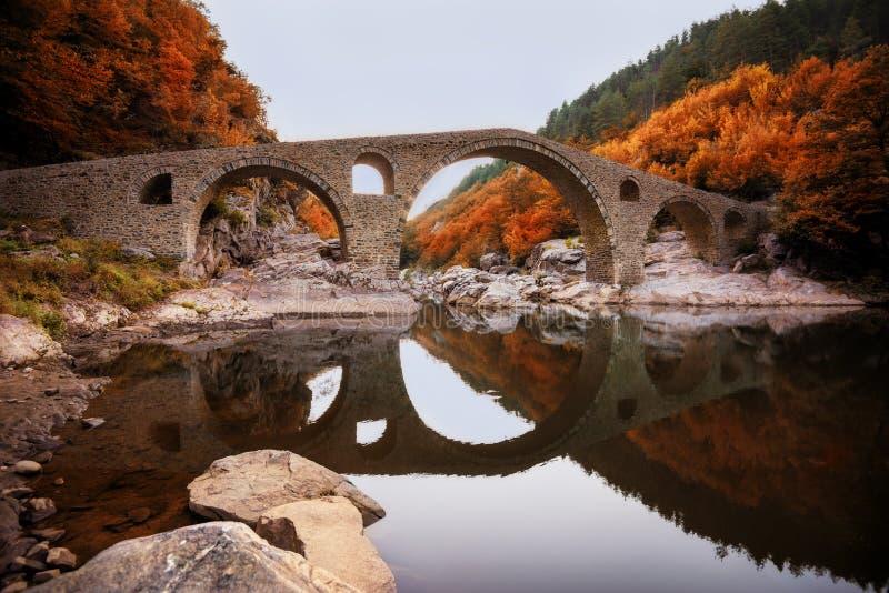 Le pont du diable, Bulgarie image stock