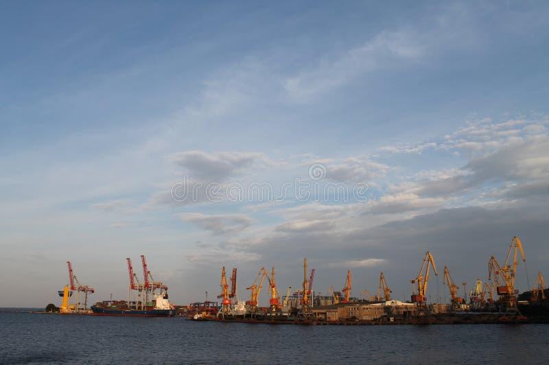 Le port de Rostov-On-Don photographie stock libre de droits