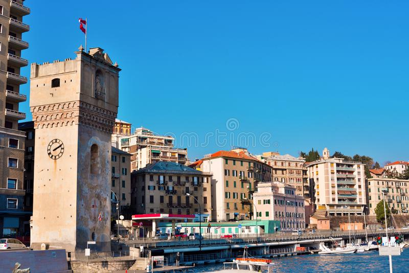 Le port de Savone Italie photos stock