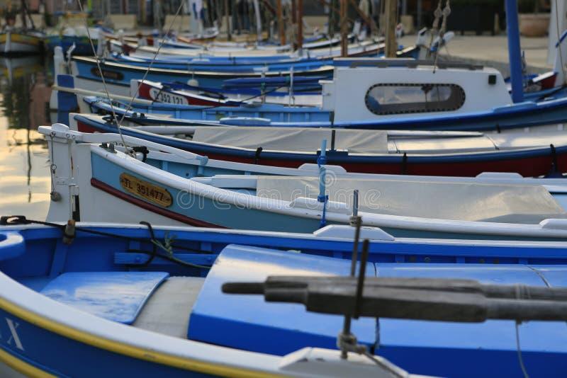 Le port du sur Mer de Sanary image libre de droits