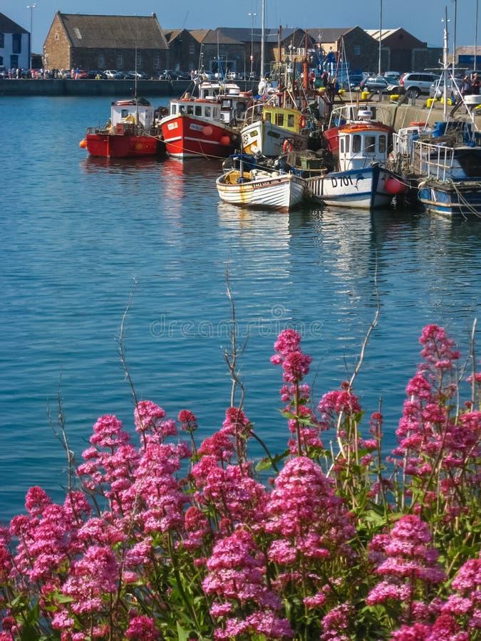 Le port Howth Co dublin l'irlande photos stock