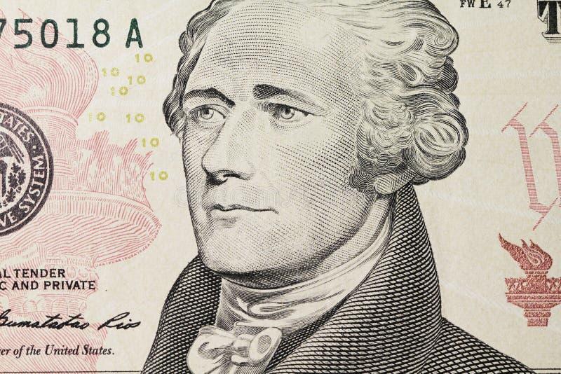 Download Le Portrait De Hamilton Sur Le Dollar Image stock - Image du célèbre, gravé: 77159849