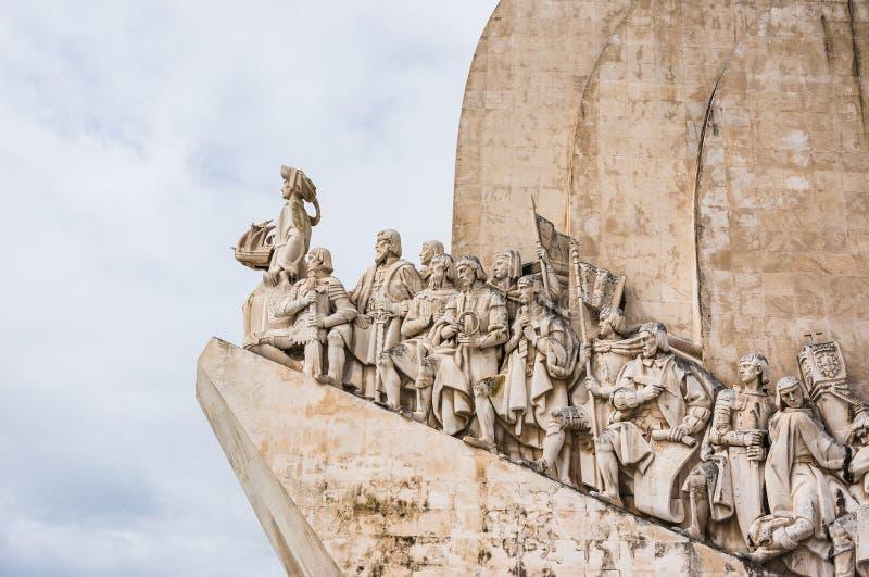 Le Portugal, âge de monument de découverte à Lisbonne photographie stock