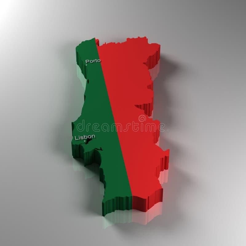 Le Portugal illustration stock