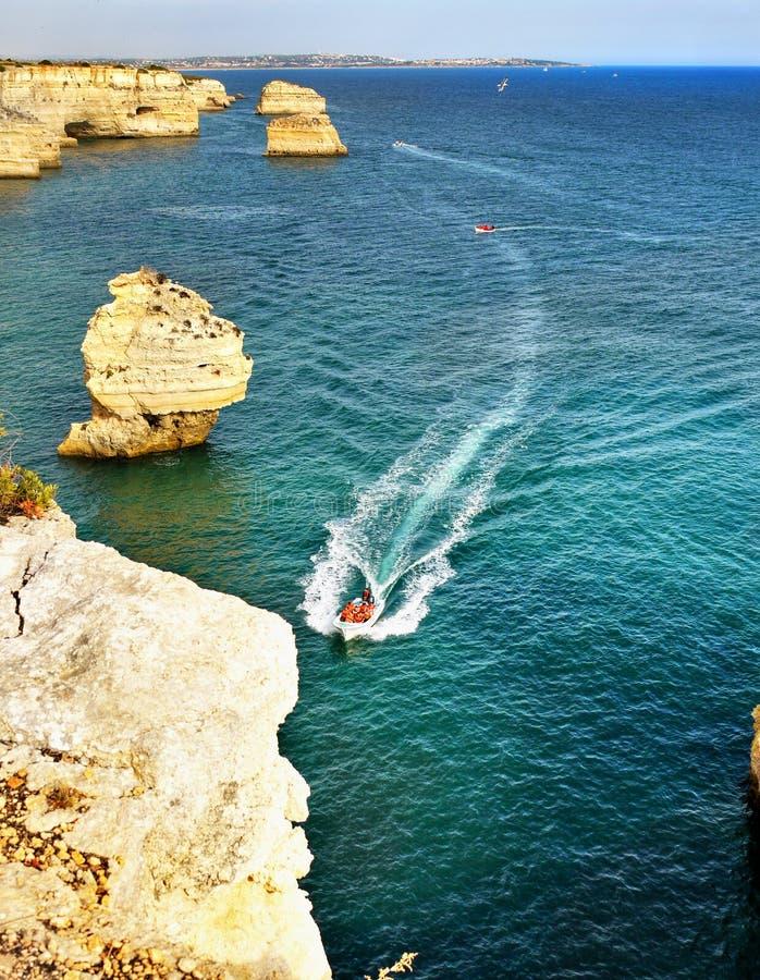 Le Portugal Algarve images libres de droits