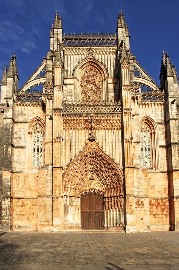 Le Portugal, Batalha : Monastère de Batalha photo libre de droits