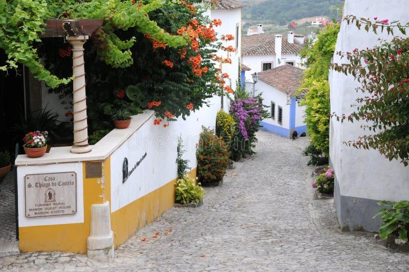 Le Portugal, Obidos photographie stock libre de droits