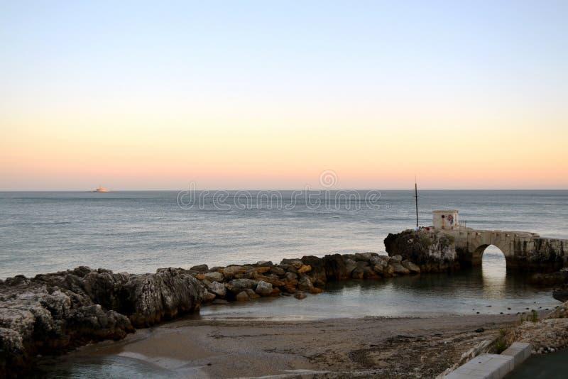 Le Portugal/Oeiras/Passeio MarÃtimo images libres de droits