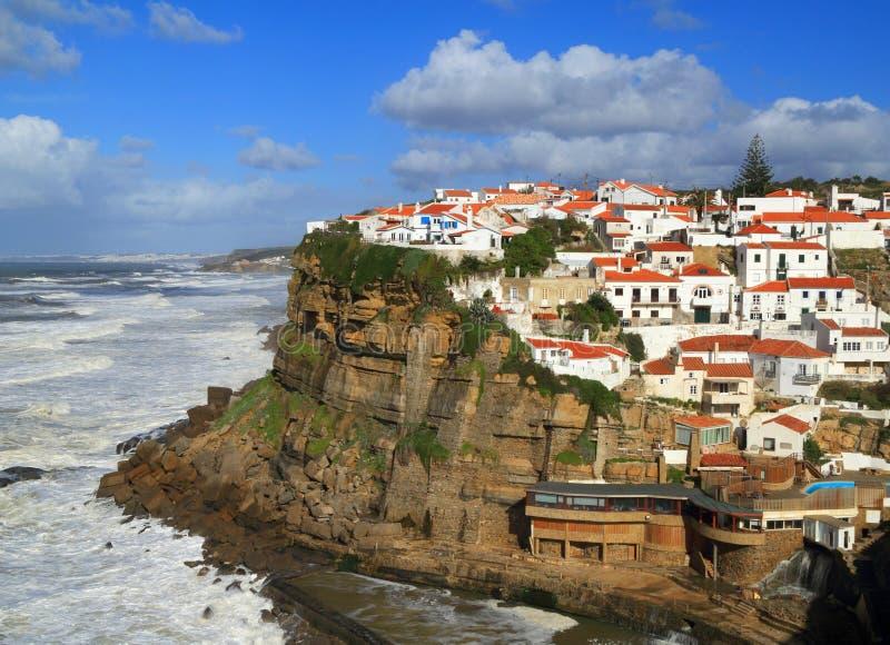 Le Portugal, Sintra, Azenhas troublent le village photo libre de droits