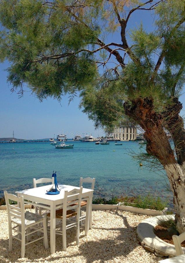 Le pour, Grèce photo stock