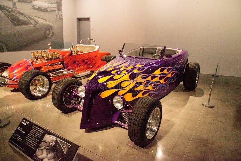 Le pourpre Ford Roadster 1932 a appelé Passion photo libre de droits