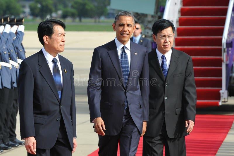 Le Président Barack Obama des USA photos libres de droits