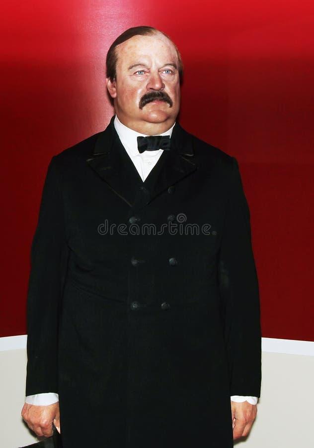 Le Président Grover Cleveland images libres de droits