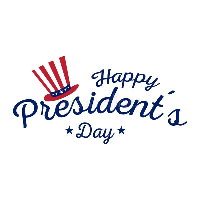 Le Président heureux Day illustration libre de droits