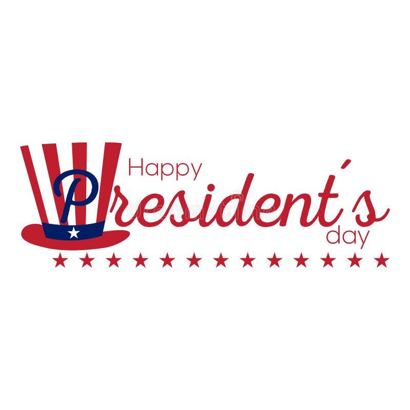 Le Président heureux Day illustration de vecteur