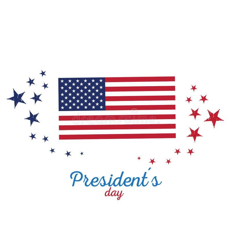 Le Président heureux Day illustration stock