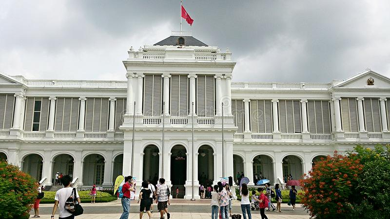 Le Président House de Singapour photographie stock libre de droits