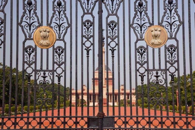 Le Président Inde de résidence de Rashtrapati Bhavan photographie stock libre de droits