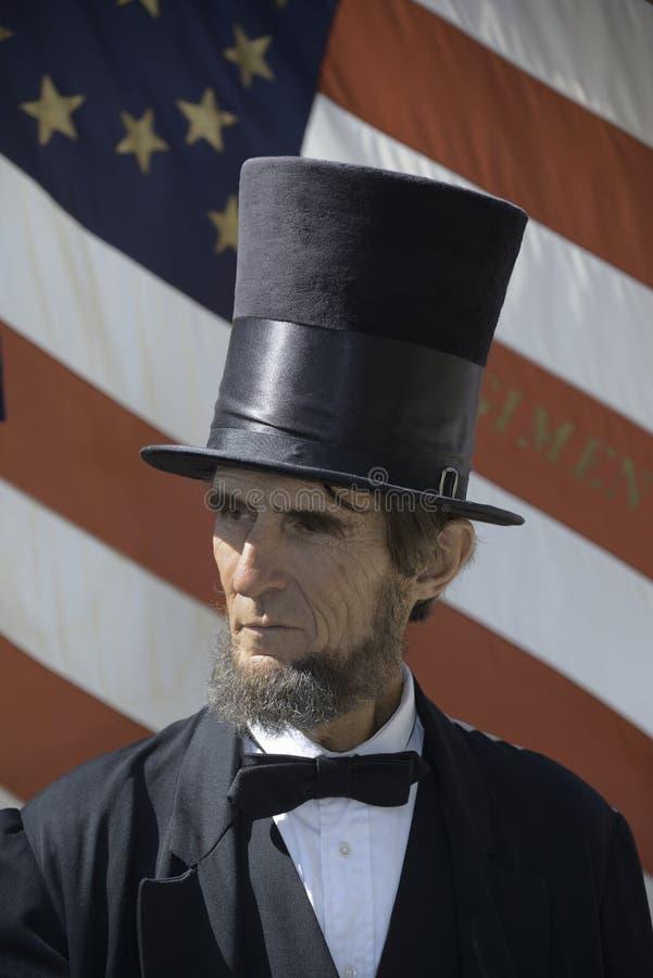 Le Président Lincoln images stock