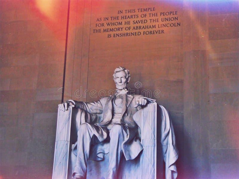 Le Président Lincoln image libre de droits