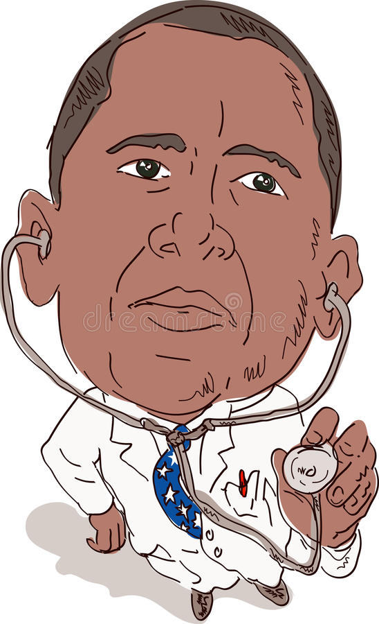 Le Président Obama comme docteur